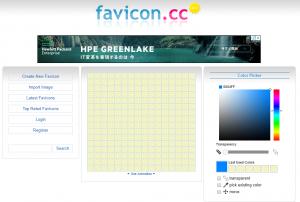 favicon.ccでブログのファビコンを作成する