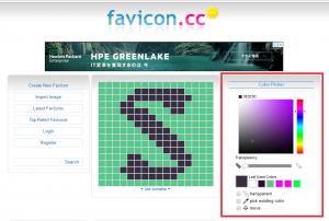 favicon.ccでファビコンを編集する