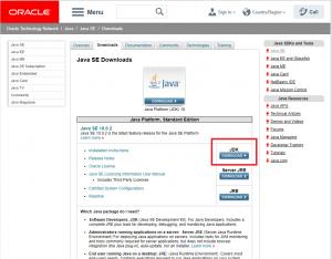 ORACLEのサイトからJDKをダウンロードする方法