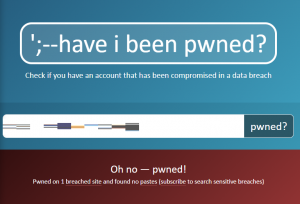 have i been pwnedでパスワードが漏洩していた場合