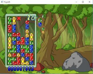 ぷよぷよVSのプレイ中の画面